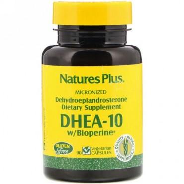 Nature's Plus, DHEA-10 With Bioperine, 90 Veggie Caps (Discontinued Item)