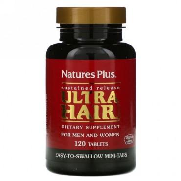 Nature's Plus, ウルトラヘア、男性&女性用、タブレット120粒