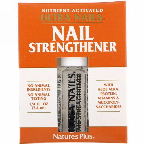 Nature's Plus, ウルトラネイル(Ultra Nails), 爪増強剤, 1/4液量オンス(7.4 ml)