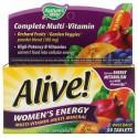 Nature's Way, Alive!(アライブ!)ウィメンズエネルギー、マルチビタミン-マルチミネラル、50粒