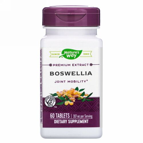 Nature's Way, Boswellia, 307 mg, 60 Tablets
