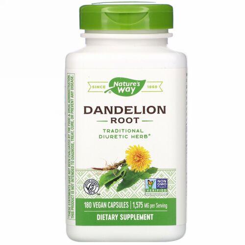 Nature's Way, Dandelion Root, 1,575 mg, 180 Vegan Capsules