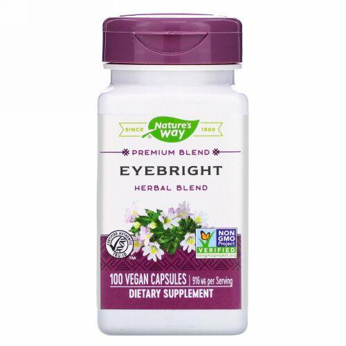 Nature's Way, Eyebright Herbal Blend, 916 mg, 100 Vegan Capsules