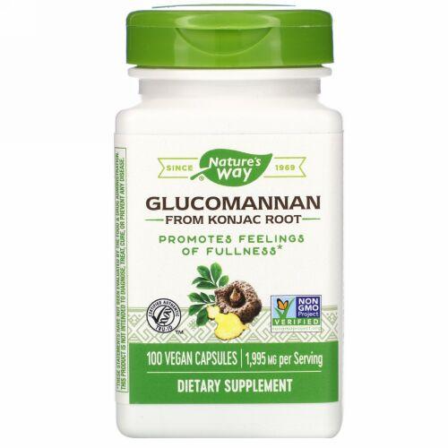 Nature's Way, Glucomannan from Konjac Root, 1,995 mg, 100 Vegan Capsules