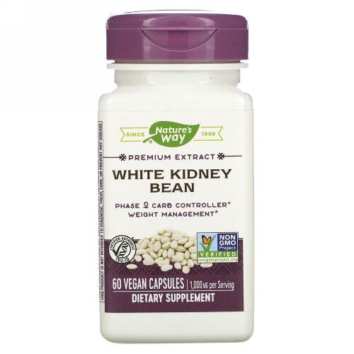 Nature's Way, White Kidney Bean , 60 Vegan Capsules