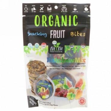 Nature's Wild Organic, Organic, Snacking Fruit Bites, Rainbow Mix, 6 Pack, 0.88 oz (25 g) Each (Discontinued Item)