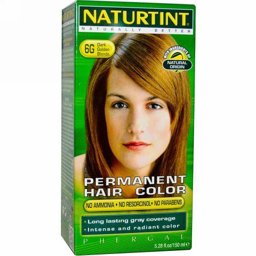 Naturtint, パーマネント ヘアカラー、6G ダーク ゴールデン ブロンド、5.28 fl oz (150 ml) (Discontinued Item)