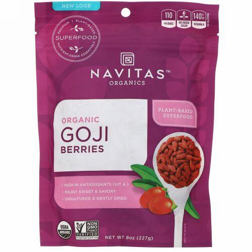 Navitas Organics, オーガニックゴジベリー、227g(8 oz)