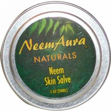 NeemAura, ニーム・スキン軟膏、 1 オンス (30 ml)