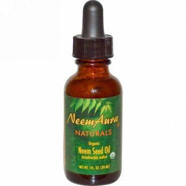 NeemAura, ニームシードオイル, 1 液量オンス (30 ml)