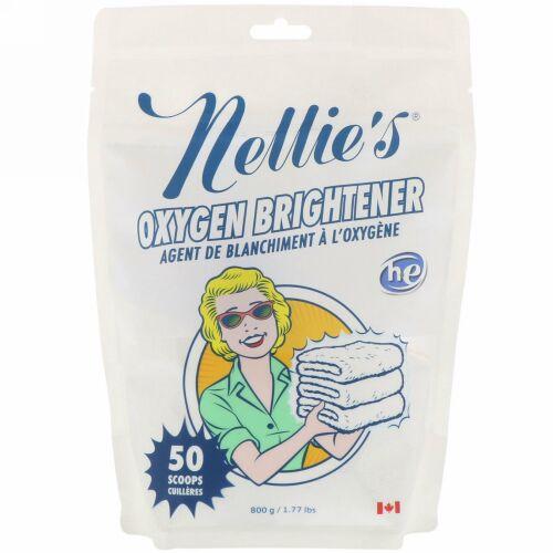 Nellie's, Oxygen Brightener(オキシジェンブライトナー)、50杯、800g(1.77lbs)