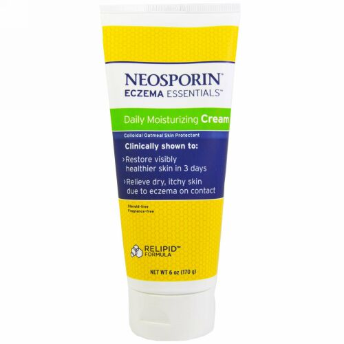 Neosporin, エクゼマ エッセンシャルズ、 デイリー保湿クリーム、 6 oz (170 g)