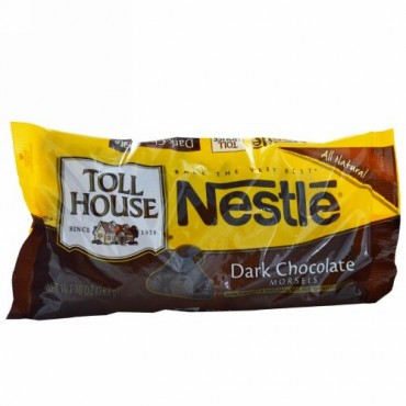 Nestle Toll House, ダークチョコレート・チップス、10 オンス (283 g) (Discontinued Item)