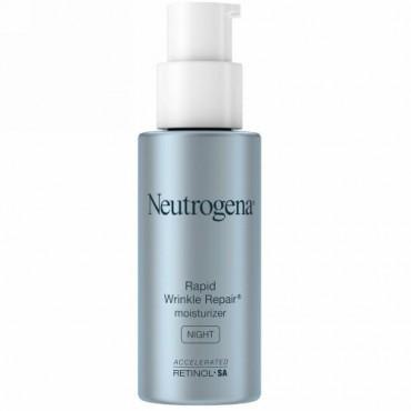 Neutrogena, Rapid Wrinkle Repair Moisturizer, Night, 1 fl oz (29 ml)