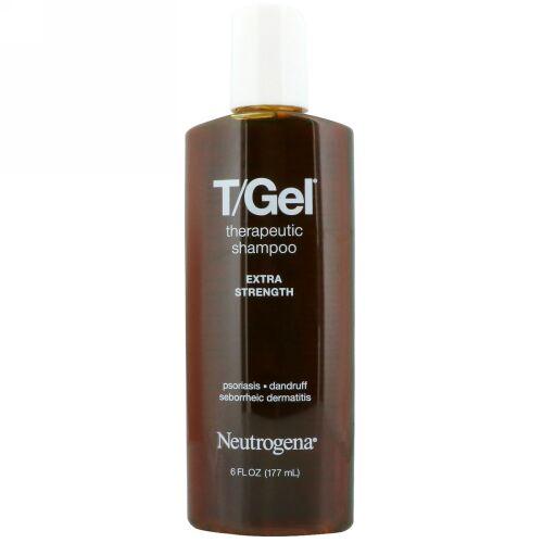 Neutrogena, T/ゲル、セラピューティックシャンプー、エクストラストレングス、6 fl oz (177 ml) (Discontinued Item)