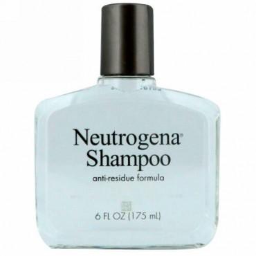 Neutrogena, アンチレジデュー(残留物除去)シャンプー、すべての髪質用、6液量オンス (175 ml)