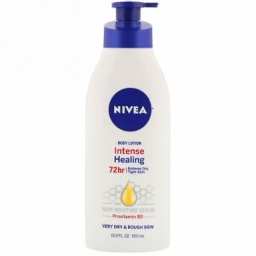 Nivea, エクステンディッドモイスチャー、 ボディーローション、 乾燥肌から超乾燥肌用、 16.9液量オンス (500 ml)