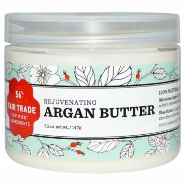 Nourish Organic, レジュベネイティング アルガン バター、5.2 oz (147 g) (Discontinued Item)