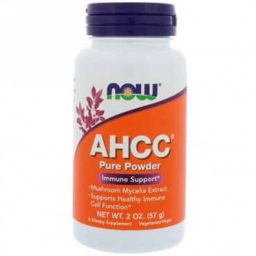 Now Foods, AHCC,ピュアパウダー, 2オンス (57 g) (Discontinued Item)