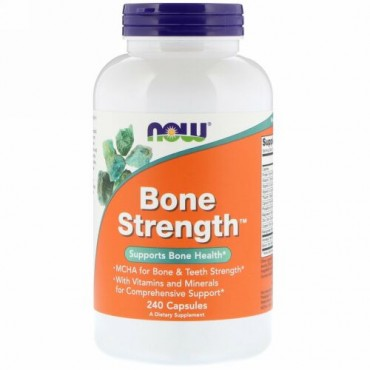 Now Foods, Bone Strength、240粒