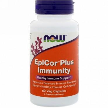 Now Foods, EpiCor Plus免疫、60ベジカプセル