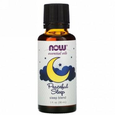 Now Foods, Essential Oils, Peaceful Sleep, 1 fl oz (30 ml)