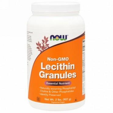 Now Foods, レシチン顆粒, 非遺伝子組み換え, 2 lbs (907 g)