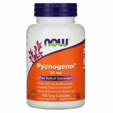 Now Foods, Pycnogenol(ピクノジェノール)、30mg、ベジカプセル150粒