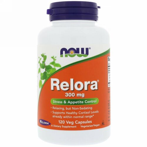 Now Foods, レロラ、300 mg、植物性カプセル120個