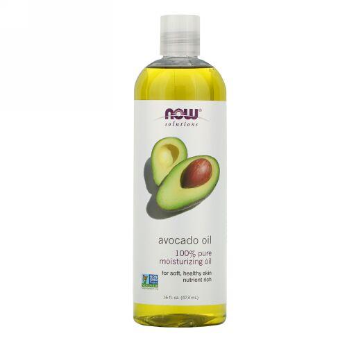 Now Foods, ソリューション, アボカドオイル, 16液量オンス (473 ml)