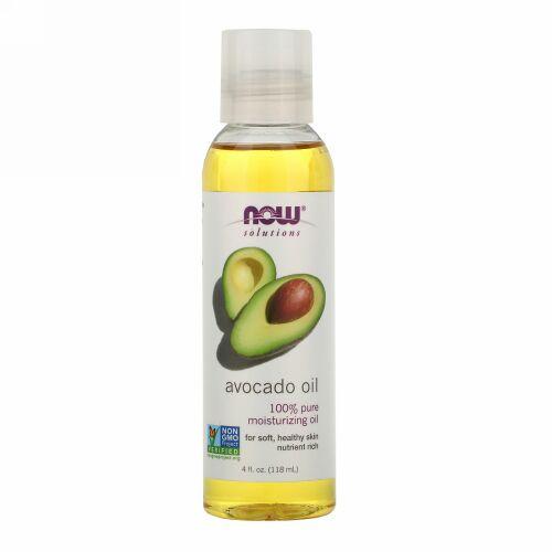 Now Foods, ソリューション、アボカドオイル、 4液量オンス (118 ml)