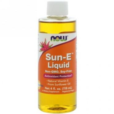 Now Foods, Sun-Eリキッド,118 ml(4 fl oz)
