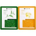 Nu-Pore, Collagen Essence Face Mask Set, Vitamin E & Green Tea, 2 Single-Use Mask, 0.85 fl oz (25 g) Each (Discontinued Item)