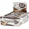 NuGo Nutrition, オーガニックダブルチョコレート, オーガニックプロテインバー 12 本, 各 1.76 オンス (50 g)