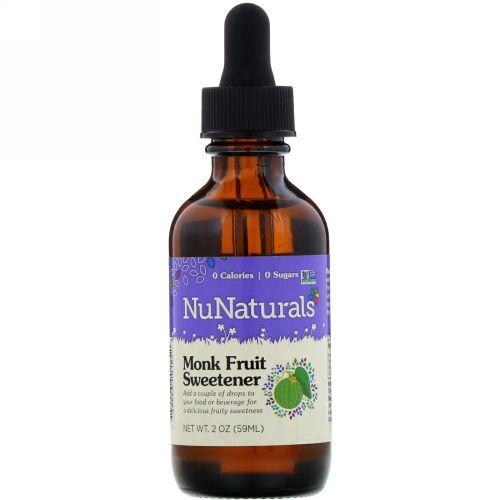 NuNaturals, 羅漢果甘味料、59ml(2オンス)