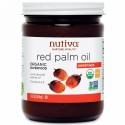 Nutiva, オーガニック レッドパームオイル, 未精製, 15 液量オンス (444 ml)