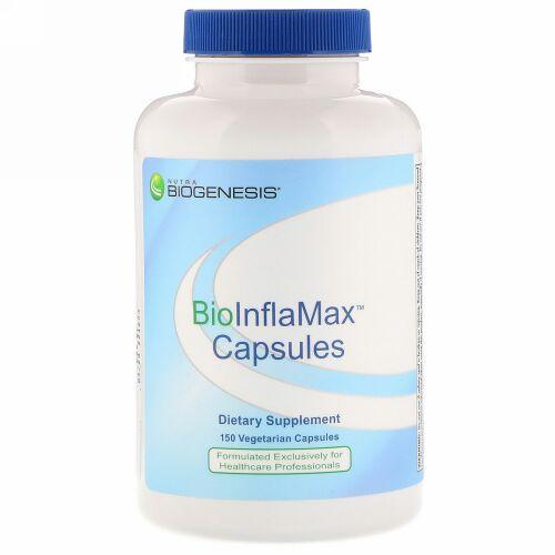 Nutra BioGenesis, BioInflaMax Capsules, 150 Vegetarian Capsules (Discontinued Item)