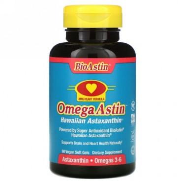 Nutrex Hawaii, OmegaAstin, Hawaiian Astaxanthin, 60 V-Gels