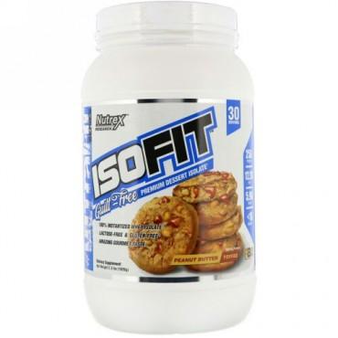 Nutrex Research, アイソフィット、ピーナッツバタートフィー、2.3 lbs (1026 g) (Discontinued Item)