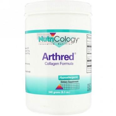 Nutricology, アースレッド、 コラーゲンフォーミュラ、 8.5オンス (240 g) (Discontinued Item)