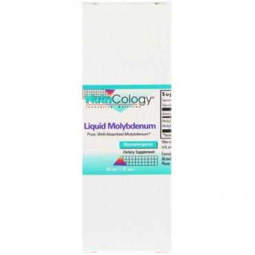 Nutricology, リキッド モリブデン, 1 fl oz (30 ml)