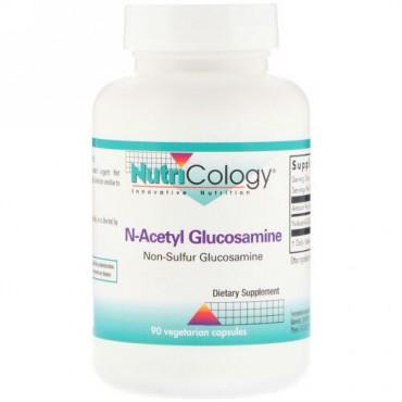 Nutricology, N-アセチルグルコサミン、ベジタリアンカプセル90個