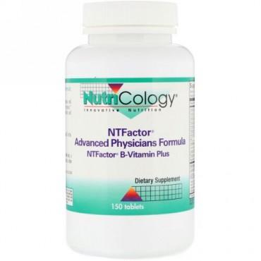 Nutricology, NT ファクター®, アドバンスト・フィジシャン・フォーミュラ, 150 錠 (Discontinued Item)