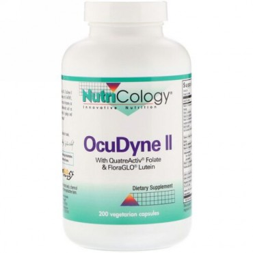 Nutricology, OcuDyne II、200ベジキャップ