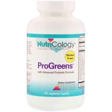 Nutricology, ProGreens, 180 Vegetarian Capsules (Discontinued Item)