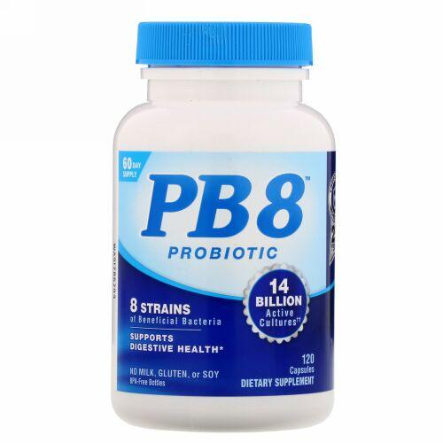 Nutrition Now, PB8プロバイオティクス、カプセル120粒