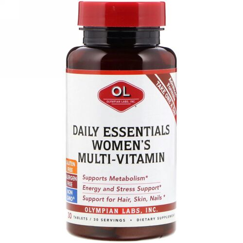 Olympian Labs, Daily Essentials Women's Multi-Vitamin, 30 Tablets (Discontinued Item)