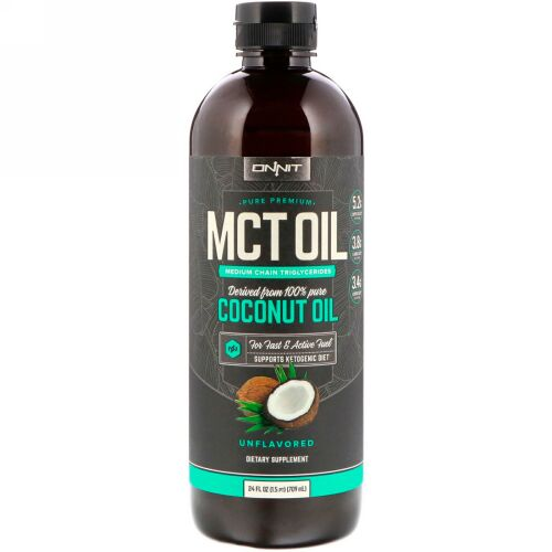 Onnit, MCT Oil, Unflavored, 24 fl oz (709 ml)
