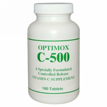 Optimox, Optimox C-500, 180 Tablets (Discontinued Item)