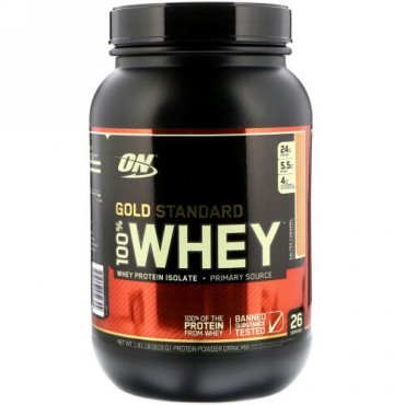 Optimum Nutrition, Gold Standard 100% Whey, Salted Caramel, 1.81 lbs (819 g) (Discontinued Item)